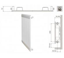 Радиатор PRADO Classic 10x500x400