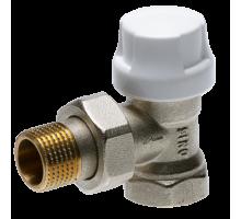 Термостатический клапан угловой PRADO ДУ-15