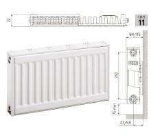 Радиатор PRADO Universal 11x300x1600