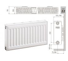 Радиатор PRADO Universal 22x500x400